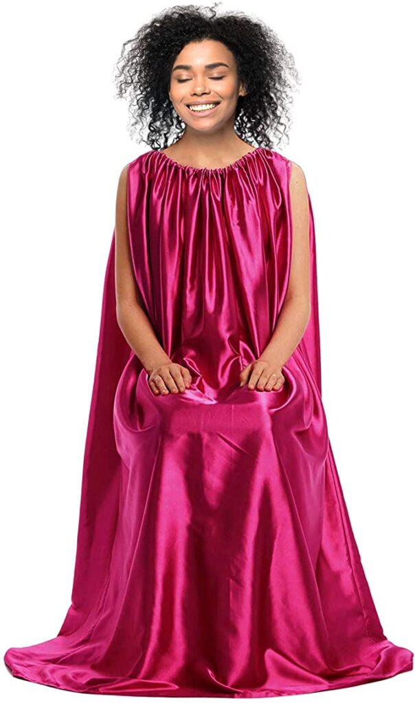 Fidelis Yoni Steam Gown Hot Pink