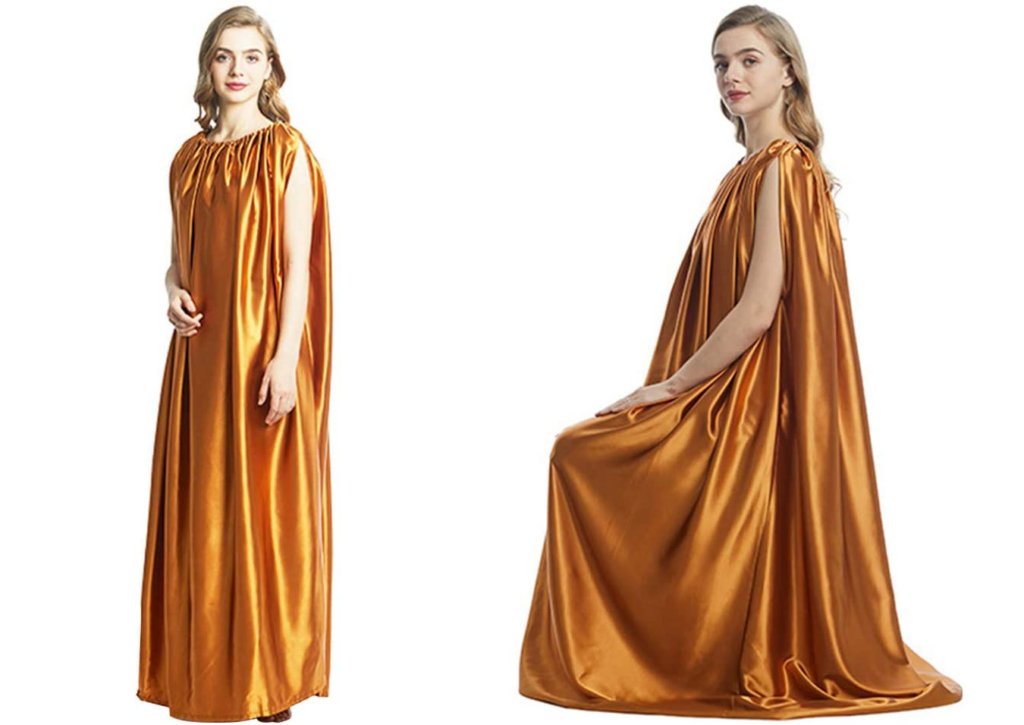Golden Yoni Steam Gown by S28esong