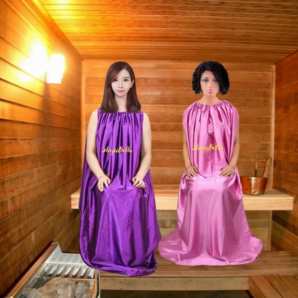 Sleepibella signature steam gowns